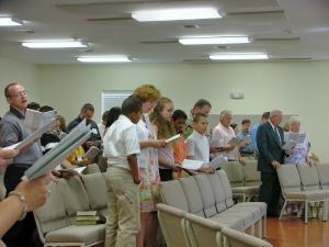Morning Worship Summer 2005